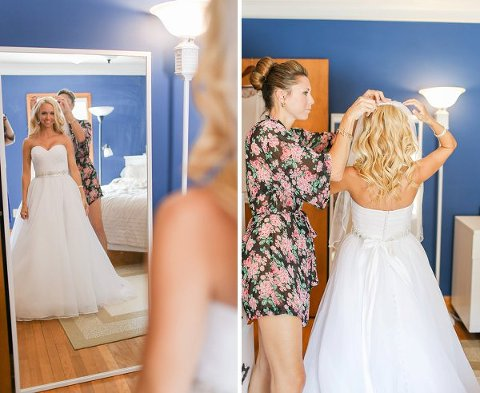 Orioles themed wedding  ||  Maureen Pacheco Photography  ||  Charm City Wed  ||   www.charmcitywed.com