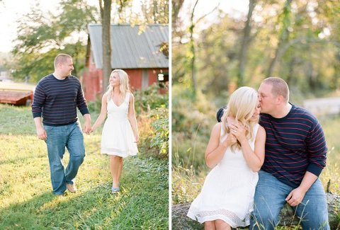 Belvedere Farms • Fallston Engagement Session  ||  Love by Serena  ||  Charm City Wed  ||  www.charmcitywed.com