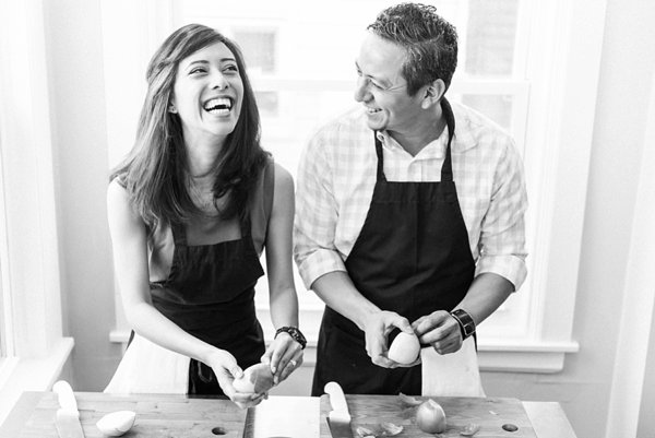 Maryland Cooking Class Engagement Session  ||  Joy Michelle Photography  ||  Charm City Wed  ||  www.charmcitywed.com