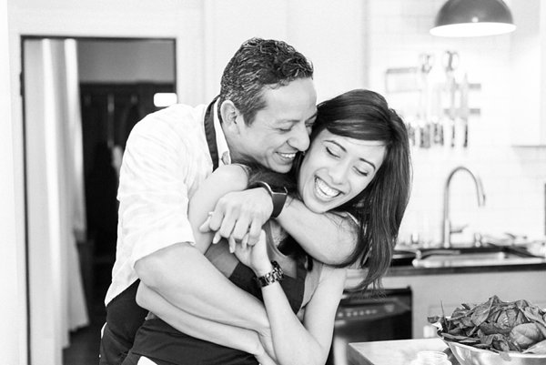 Maryland Cooking Class Engagement Photos  ||  Joy Michelle Photography  ||  Charm City Wed  ||  www.charmcitywed.com