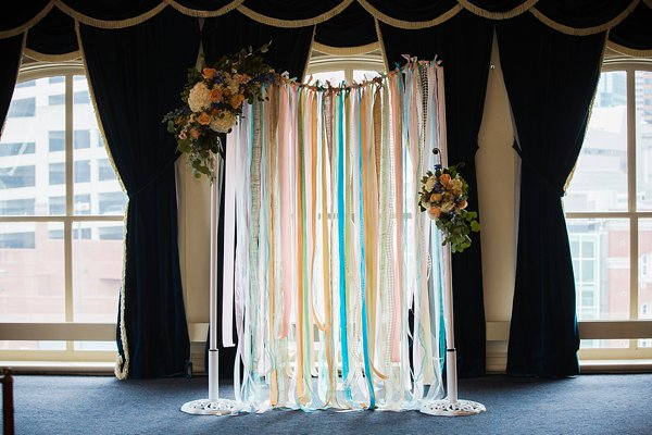 1840's Ballroom City Lites Wedding  ||   Photography by Brea   ||  Charm City Wed  ||  www.charmcitywed.com