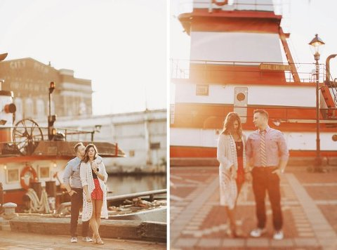 Fells Point Engagement Pics ||  Nessa K Photography  ||  Charm City Wed  ||  www.charmcitywed.com