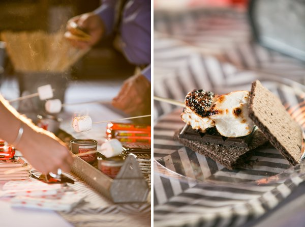 S'mores Wedding Reception at Jefferson Patterson Park  ||  tPoz Photography  ||  Charm City Wed  ||  www.charmcitywed.com