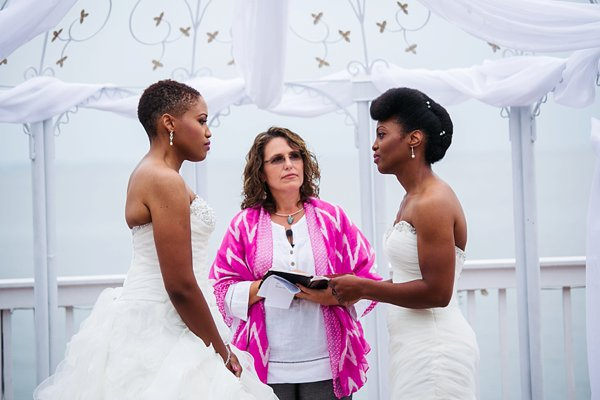 Same-sex wedding at Celebrations at the Bay  ||  Emily Chastain Photography  ||  Charm City Wed  ||  www.charmcitywed.com