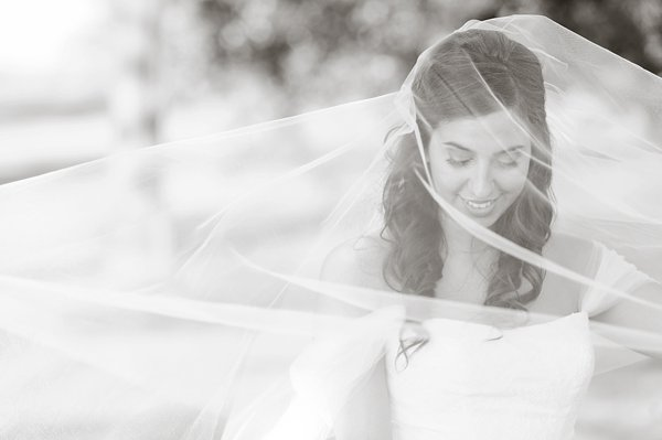 Under the veil - Sparrows Point Country Club Wedding  ||  Lauren C Photography  ||  Charm City Wed  ||   www.charmcitywed.com