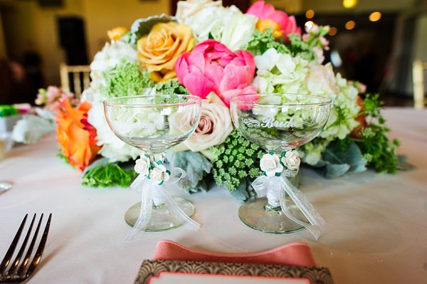 Wedding Reception at Sparrows Point Country Club  ||  Lauren C Photography  ||  Charm City Wed  ||   www.charmcitywed.com