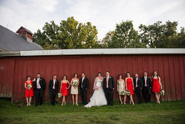 Wedding at Swan Harbor Farm ||  Kathleen Hertel Photography  ||  Charm City Wed  ||  www.charmcitywed.com