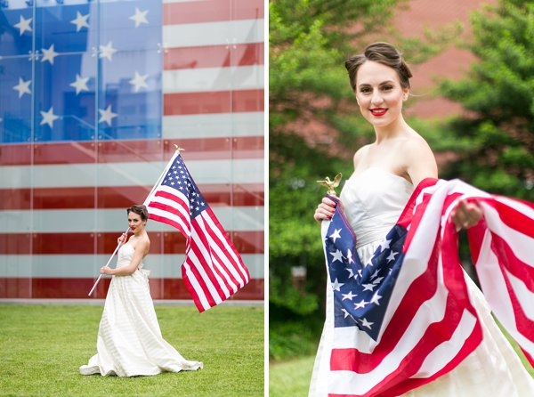 4th of July Wedding Styled Shoot  ||  tPoz Photography  ||  Pop the Cork Designs    ||  Charm City Wed  ||  www.charmcitywed.com