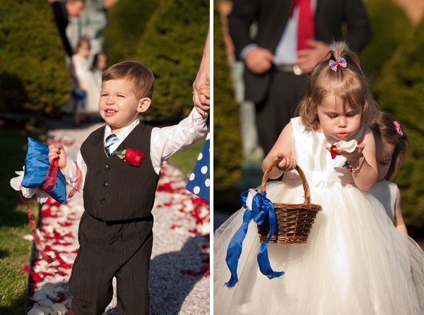 Antrim Patriotic Wedding  ||  Kathleen Hertel Photography   ||  Charm City Wed  ||  www.charmcitywed.com