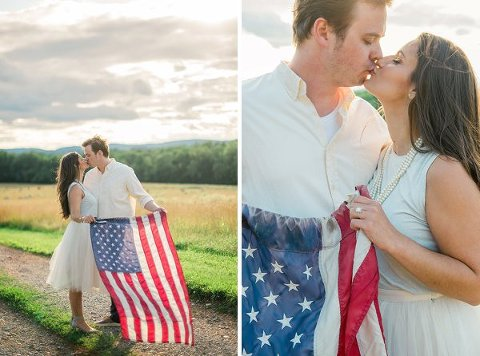 Baltimore July 4th Wedding Inspiration || Brittany DeFrehn Photography || Charm City Wed || www.charmcitywed.com