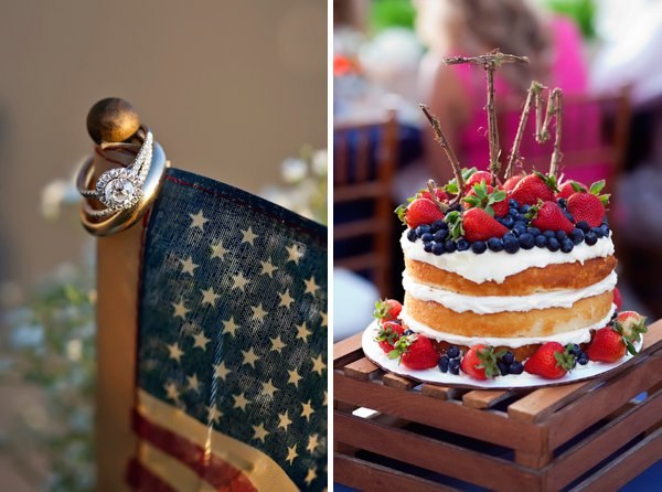 4th of July Wedding Inspiration  ||   Dunks Photo  ||  Charm City Wed  ||  www.charmcitywed.com