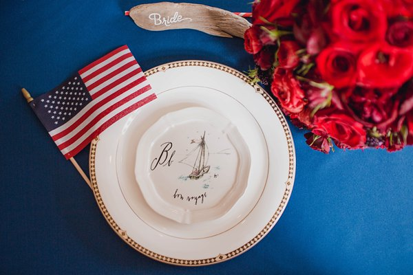 Baltimore July 4th Wedding Inspiration  ||   Kates Lens Photography  ||  Charm City Wed  ||  www.charmcitywed.com