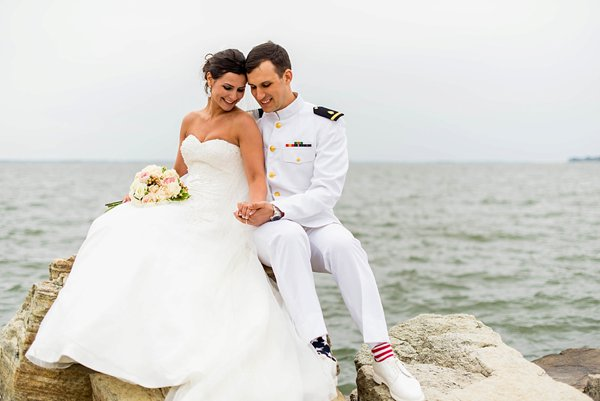 4th of July Wedding at the Naval Academy