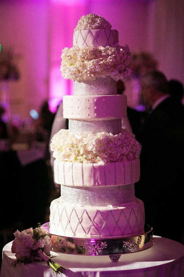 Patisserie Poupon Wedding Cake || Artful Weddings || Charm City Wed || www.charmcitywed.com