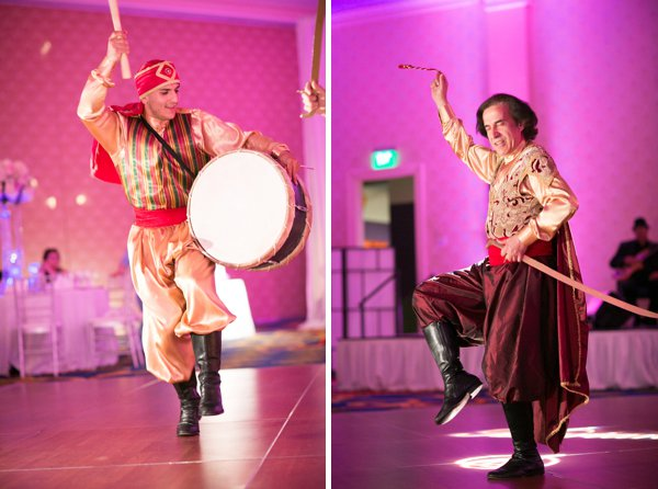 Arabic Wedding Dancers || Artful Weddings || Charm City Wed || www.charmcitywed.com