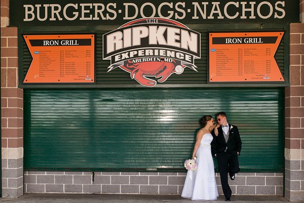 Ripken Stadium Wedding  ||  Gronde Photography  ||  Charm City Wed  ||  www.charmcitywed.com