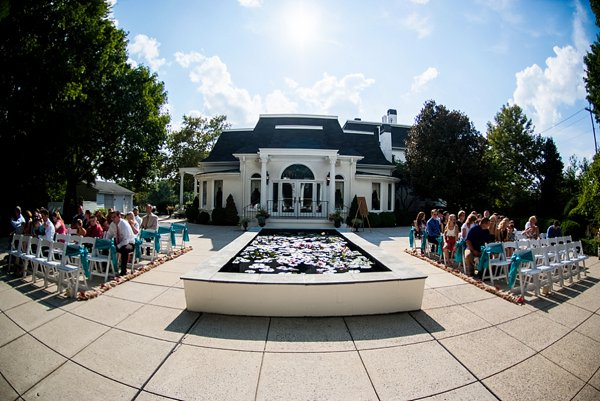 Wedding Ceremony at Ceresville Mansion || Robin Shotola Photography || Charm City Wed || www.charmcitywed.com