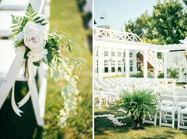 Wedding Ceremony At Chesapeake Bay Beach Club
