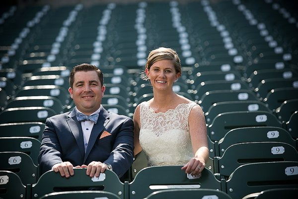 Orioles Park Wedding || Dennis Drenner Photography || Intrinsic Events || Charm City Wed || www.charmcitywed.com