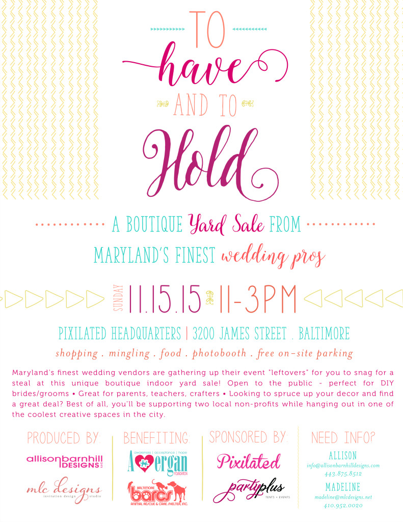 Boutique Yard Sale - Maryland wedding vendors