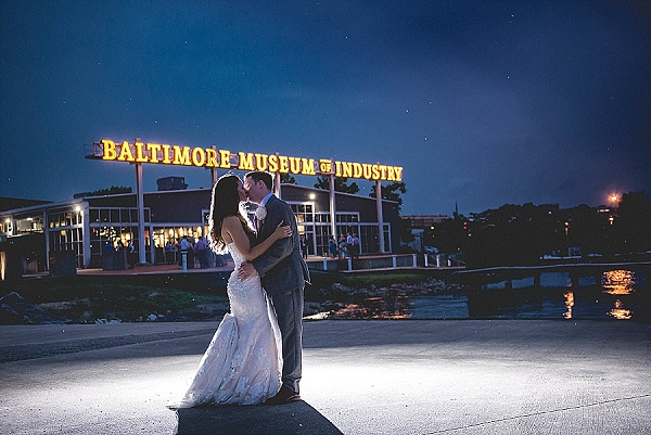 Baltimore Museum of Industry Wedding || Leah Rhianne Photography || Charm City Wed || www.charmcitywed.com