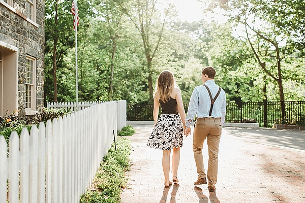 Ellicott City Engagement Session || L.A Birdie Photography || Charm City Wed || www.charmcitywed.com