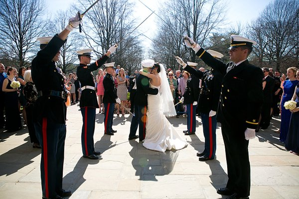 Maryland Military Wedding || Maria Linz Photography || Charm City Wed || www.charmcitywed.com