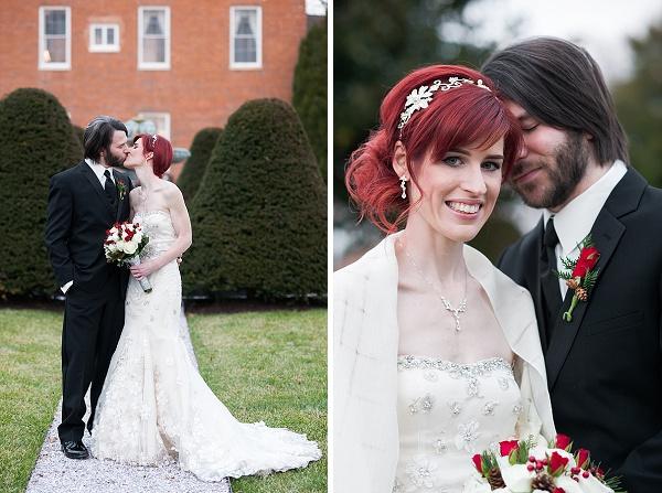 Antrim 1844 Holiday Wedding || Jennifer Smutek Photography || Charm City Wed || www.charmcitywed.com