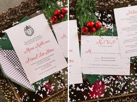 Christmas Wedding Inspiration || Bekah Kay Creative || Charm City Wed || www.charmcitywed.com