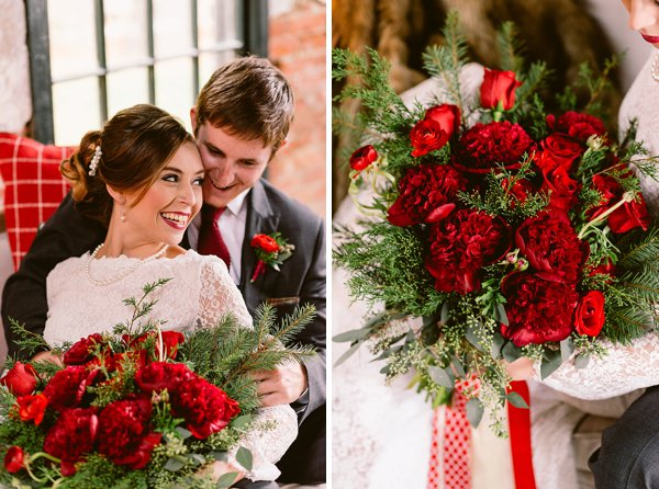 Maryland Christmas Wedding Styled Shoot || Bekah Kay Creative || Charm City Wed || www.charmcitywed.com
