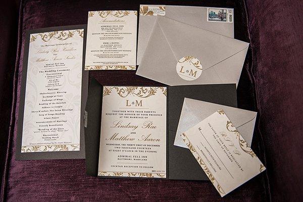 NYE Wedding at the Admiral Fell Inn || Kathleen Hertel Photography || Charm City Wed || www.charmcitywed.com