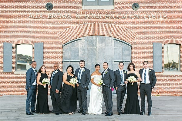 Fredrick Douglass Maritime Museum Wedding || tPoz Photography || Charm City Wed || www.charmcitywed.com