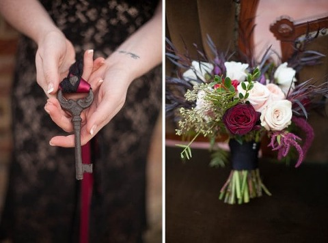 Romantic Red Inspiration at the Patapsco Female Institute || PhotoChic || Charm City Wed || www.charmcitywed.com