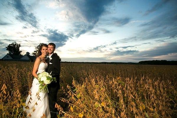 swan harbor farm wedding by borrowed blue photography