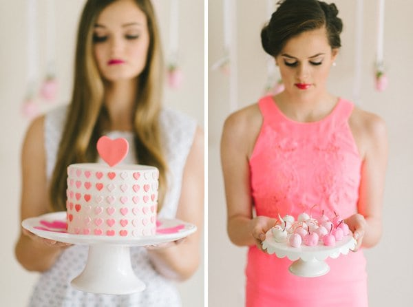 Valentine Inspiration for a bridal shower tea || Elizabeth Fogarty Photography || Charm City Wed || www.charmcitywed.com