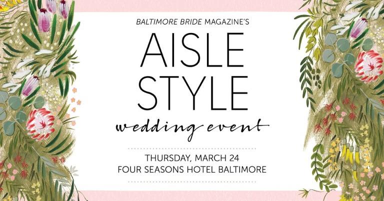 Baltimore Bride Aisle Style 2016