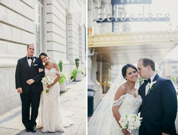 Baltimore Basilica + Belvedere Wedding || Love Life Images || Charm City Wed || www.charmcitywed.com