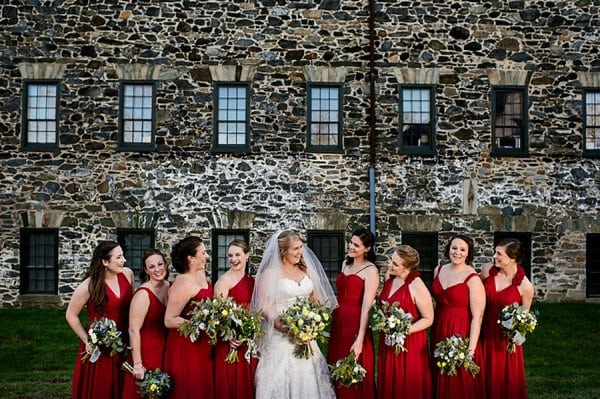 Mt Washington Mill Dye House Wedding || Ashley Michelle Photography || Charm City Wed || www.charmcitywed.com