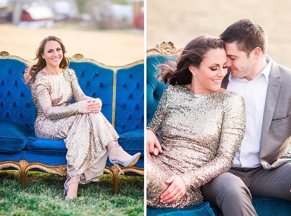 Rustic Glam Engagement Session || Brooke Tyson Photography || Charm City Wed || www.charmcitywed.com