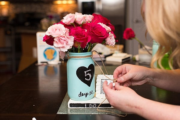 DIY Project: Wedding Countdown || tPoz Photography || Charm City Wed || www.charmcitywed.com
