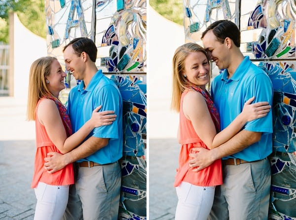 Downtown Baltimore Engagement Session || Nicole Barr Photography || Charm City Wed || www.charmcitywed.com
