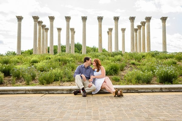 National Arboretum Engagement || Gonzalez J Photography || Charm City Wed || www.charmcitywed.com