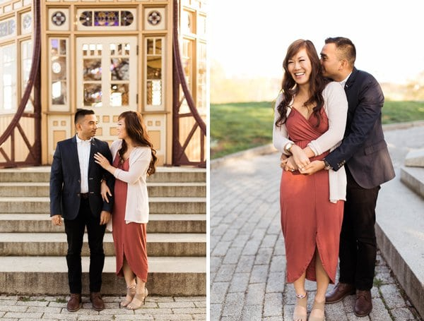 Warm and Sunny Engagement Session || Tira Paige Photography || Charm City Wed || www.charmcitywed.com