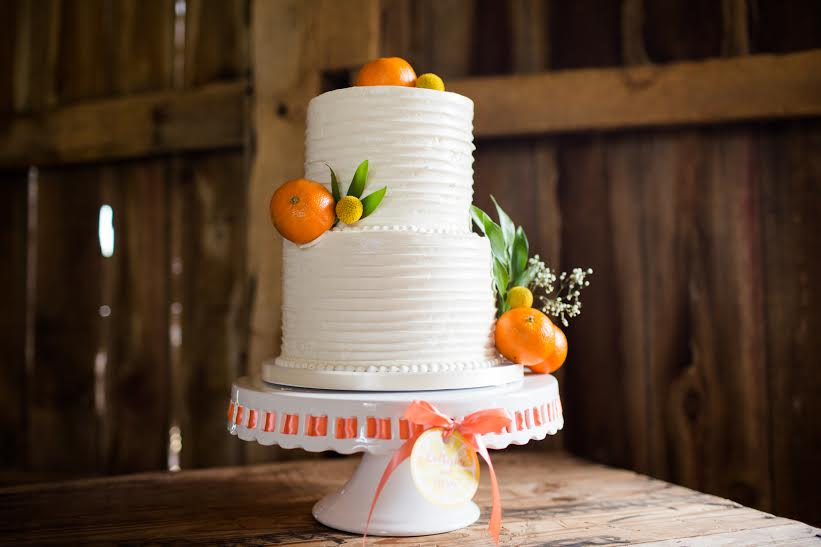 two tier swirl cake with fruit - Kira Rogers, Enchanting Events Planner1