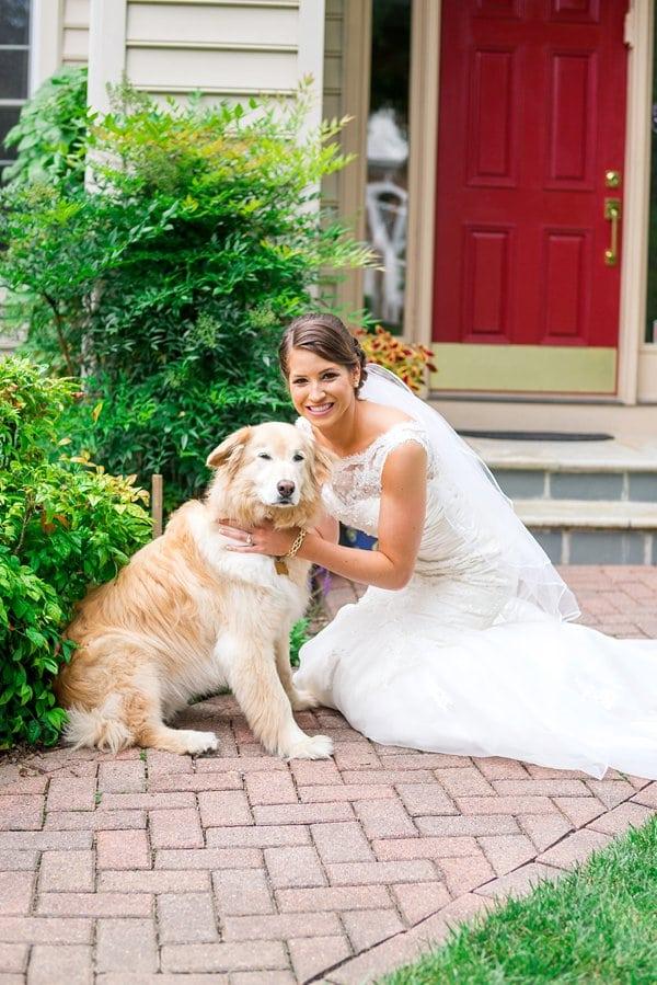Wedding Dogs || Brooke Tyson Photography || Charm City Wed || www.charmcitywed.com