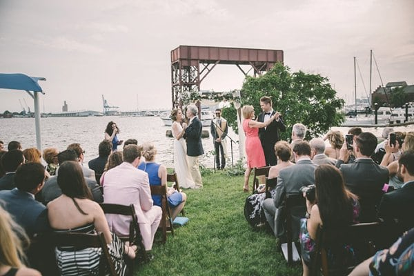Canton Waterfront Wedding || Barbara O Photography || Intrinsic Weddings || Charm City Wed || www.charmcitywed.com