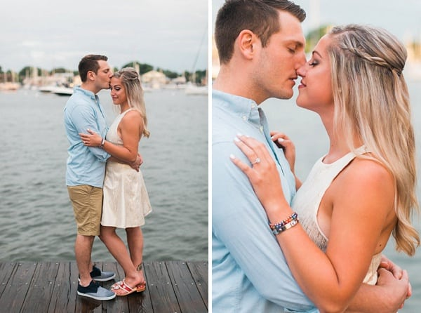 Sunset Engagement Session || Nikki Schell Photography || Charm City Wed || www.charmcitywed.com