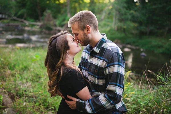 Gunpowder Falls State Park Engagement Session || Elizabeth Mae Photography || Charm City Wed || www.charmcitywed.com