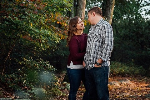 Sugarloaf Mountain Engagement Session || Ashley Jayde Photography || Charm City Wed || www.charmcitywed.com