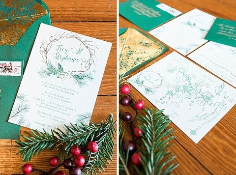 Christmas Styled Shoot at the Kent Manor Inn || 1783 Photography || Charm City Wed || www.charmcitywed.com
